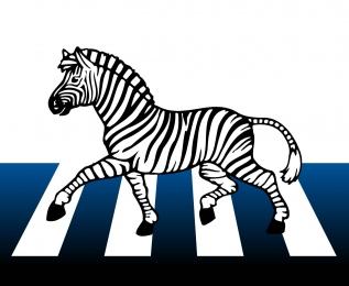 знак зебра картинки